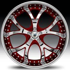 Chevrolet Camaro Custom Wheels Asanti af 143  2-tone custom red 4k Truck Rims, Truck Wheels, Rims And Tires, Rims For Cars, Custom Wheels, Custom Cars, Jeep Wrangler Tires, American Racing Wheels, Pink Rims