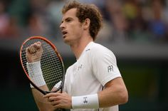 A smart return followed by a dipping passing shot & Murray has the break for 6-4, 6-5. He'll serve for a two-set lead. Wimbledon 2015