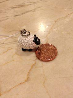 Polymer Clay Charm Sheep
