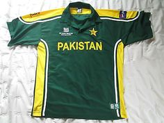 #*rare* pakistan #cricket icc 2003 world cup shirt, adult xl #*free uk postage*,  View more on the LINK: http://www.zeppy.io/product/gb/2/252727635343/