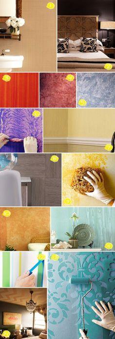 Decorar tu casa es una de las cosas más divertidas que puedes hacer y a veces el simple hecho de cambiar una pared de color puede transformarel aspecto de un cuarto por completo y hasta tu ánimo. Si no se te ocurre cómo hacerlo, checa estas ideas: Hay rodillos con texturas que deán un estilo …
