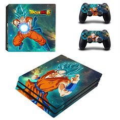 Dragonball Gt Skin Ps4 Pro Limited Edition Glossy Vinyl Decal Cover Beautiful And Charming