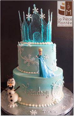 Cake Reine Des Neiges : Cake tutorial, Frozen cake tutorial and Google on Pinterest