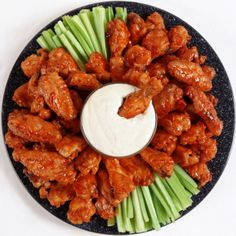 Eat buffalo wings in Buffalo, New York
