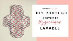Super detaljeret tutorial til at lære at sy en hygiejnebind lava . Blog Couture, Diy Couture, Creation Couture, Sewing Online, Sanitary Napkin, Easy Face Masks, Learn To Sew, Pattern Making, Needlework