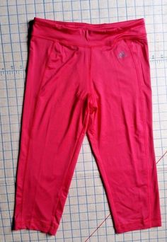 Girls sz L Adidas Performance gym Tight Capri Pants Youth Pink Large 14 #adidas #AthleticSweatPants #Everyday