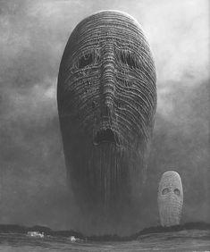 Zdzisław Beksiński: Terrifying Visions Of Hell By Murdered Polish Painter