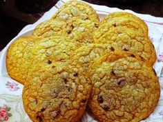 Mundo de Yoshi : Cookies com Pepitas de chocolate