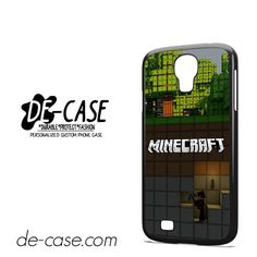 Minecraft Diging DEAL-7273 Samsung Phonecase Cover For Samsung Galaxy S4 / S4 Mini