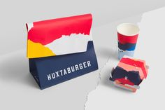 Huxtaburger on Behance