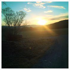 Februar 2014, Aune , Jøa , soloppgang , sunrise, norway, norge