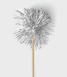 tinsel swizzle stick. $18