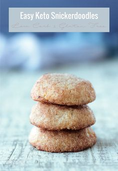 These low carb snickerdoodles will make all of your cookie dreams come true!