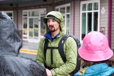 Adventure Flow founder and guide Eric captivates visitors with his profound knowledge of Juneau and how it applies to all of our lives.