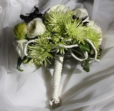 Chrysanthemum wedding bouquet