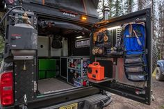 """Alu-Cab USA on Instagram: """"This is what what camp looks like in the @ok4wd ZR2 Bison, how would you configure your #canopycamper ? ⛺️ #alucab"""""""