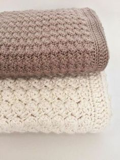 Chunky Crochet Baby Blanket would be a dreamy addition to any nursery. It has options to make it super thick with bulky yarn or more delicate with DK weight yarn.♥ This is a beautiful, thick and textured blanket. It would be lovely in a baby's room or made larger and thrown across the couch.♥ The stitches are simple and repeated so it is perfect for any level of crochet. The border simply frames the beautiful pattern. Initially I designed this pattern with bulky yarn, which is perfect for a…