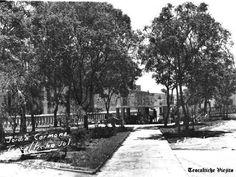 Plaza de armas de Teocaltiche Jalisco Mexico