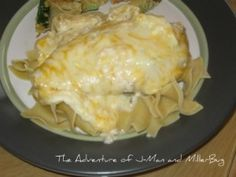 Simple Slow Cooker Cheesy Ranch Chicken!  A Sure Fire Family Favorite!