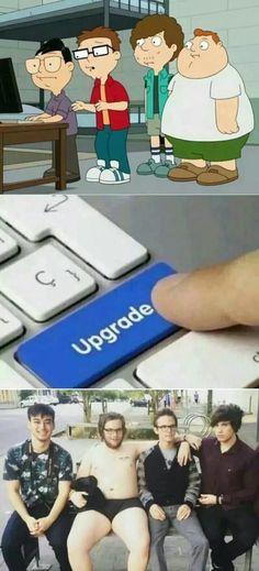 Filthy Frank, Idubbbz, Maxmoefoe, Anything4views upgrade American dad