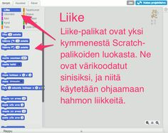 -klubi CC-BY-SA-3.0 https://en.wikipedia.org/wiki/File:Scratch_Logo.svg Original uploader was Airhogs777 at en.wikipedia CC-BY-SA-2.0 https://en.wikipedia.org/wiki/File:Scratch_cat_large.png Author: Scratch Scratch-klubi palkittu sekä OPEN FINLAND CHALLENGE 2015 että APPS4EDUCATION -kilpailuissa Aloita tehtävät tästä Scratch-klubin versioista Tämä sivusto on tehty Scratch:in versiota (2.0) varten. Sillä Scratch-klubin voi tehdä näppärästi verkkos...