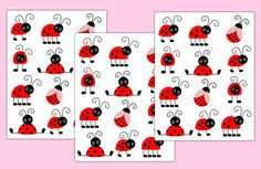 LADYBUG NURSERY DECAL Wall Art Girl Baby Shower Decorations
