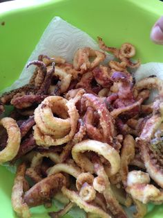 Slurp....calamari fritti