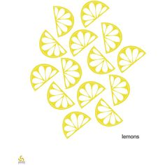 Lemons, lemons art print, citrus, PRINTABLE ART, instant wall art,... ($5) ❤ liked on Polyvore featuring home, home decor, wall art, matte screen, wall screen, interior wall decor, printable wall art and fruit home decor