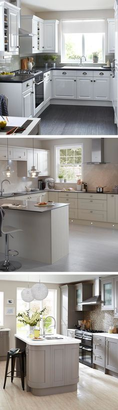 If you only have a narrow room to set up your kitchen in the house