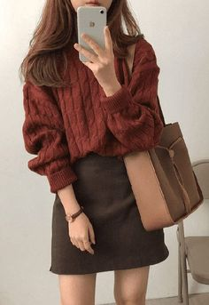 15 Trendy Autumn Street Style Outfits For This Year - fall outfits simple denim . - 15 Trendy Autumn Street Style Outfits For This Year – fall outfits simple denim outfits - Cute Fall Outfits, Fall Fashion Outfits, Mode Outfits, Korean Outfits, Simple Outfits, Look Fashion, Casual Outfits, Autumn Fashion, Autumn Outfits