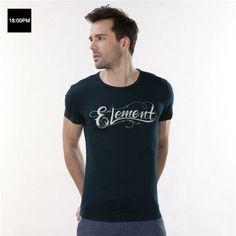 18:00 PM big 2014 summer casual men T-shirt cartoon graffiti mercerized cotton round neck short sleeve T-shirt Slim men