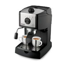 #2: De'Longhi EC155 15 BAR Pump Espresso and Cappuccino Maker