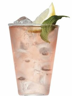 Pink Margarita Tequila, Campari, fresh lemon juice, and honey.