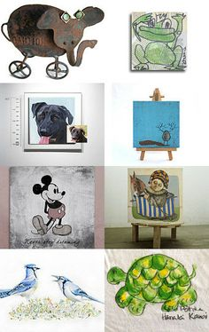 For animals lovers by talma vardi on Etsy--Pinned with TreasuryPin.com