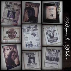 Harry Potter Mystery Dinner Party Hogsmeade Printables