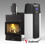 LOUIS AQUA 15kW + Pompa ciepła GALMET BASIC 200 L Stove, Aqua, Home Appliances, Wood, Crane Car, House Appliances, Water, Range, Woodwind Instrument