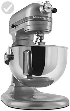 KitchenAid Professional 5 Plus Series Stand Mixers -  Silver - Improve your home (*Amazon Partner-Link)