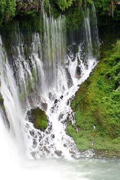 Burney Falls Cave  by Andrea Borden