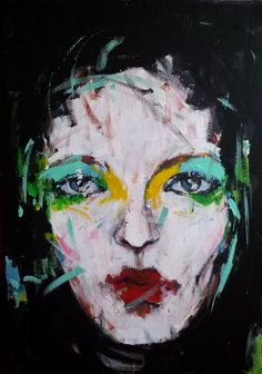 Fas hion portrait Paintings, Artwork, Portraits, Fictional Characters, Work Of Art, Painting Art, Painting, Painted Canvas, Drawings