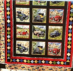 Fabulous Cars  by Jessica's Quilting Studio, via Flickr