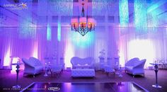 Fab setup and lighting at this #reception! Photo via #stevepomperleau