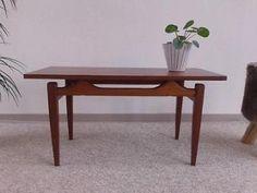 Vintage design salontafel, retro tafel jr 60 tafeltje Deens