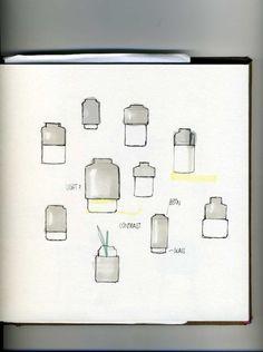 Willmann Vase for Menu Design