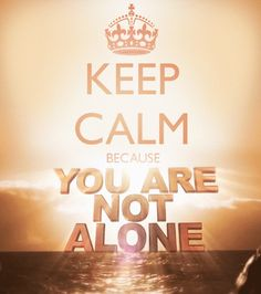 """KEEP CALM !!! """"I am with you every day, even unto the end of time. Amen"""" -Jesus #keep_calm"""