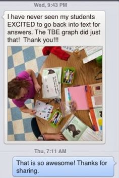 Your feedback is pouring in and I couldn't be happier for you and your students. A teacher is Wisconsin gave a TBE shout-out on the Hello L. Reading Tutoring, Reading Fluency, Guided Reading, Text Based Evidence, Constructed Response, 5th Grade Classroom, Middle School English, Thanks For Sharing, English Language Arts