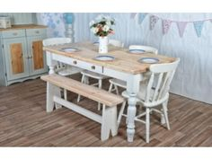 17 best shabby chic dining table images on pinterest shabby chic rh pinterest com shabby chic dining room table shabby chic dining room table
