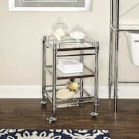 Buy Bathroom Cabinets & Storage Online at Overstock | Our Best Bathroom Furniture Deals Over The Toilet Cabinet, Spanish Style Bathrooms, Bathroom Countertops, Bathroom Cabinets, Tempered Glass Shelves, Diy Shower, Bathroom Essentials, Bathroom Furniture, Amazing Bathrooms