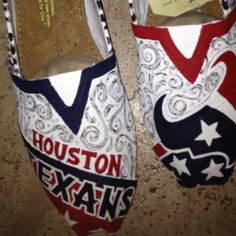 Houston texans toms where have these been all my life lol
