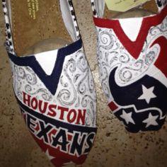 Houston texans.  Etsy.com