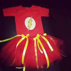 Homemade super hero costume for girls
